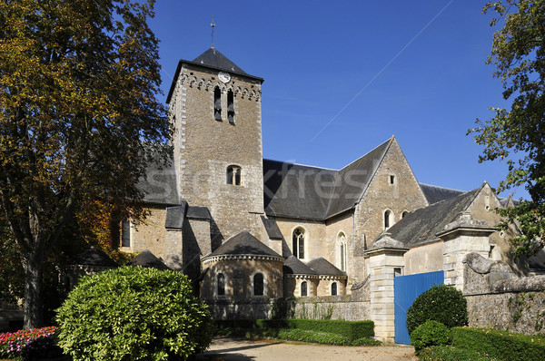 Abbey Saint Peter at Solesmes in France Stock photo © Musat