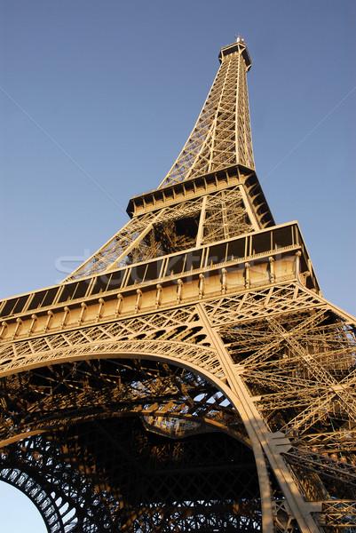 Eiffel tower of Paris Stock photo © Musat