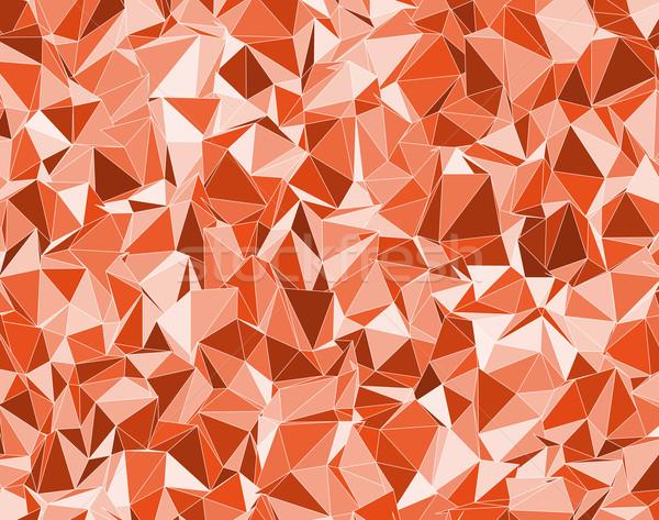 Laranja vetor diferente cor água moda Foto stock © muuraa