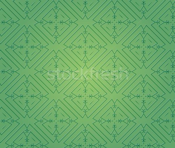 Verde vettore texture moda design Foto d'archivio © muuraa