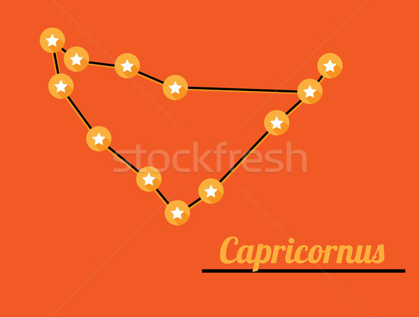 constellation capricornus Stock photo © muuraa