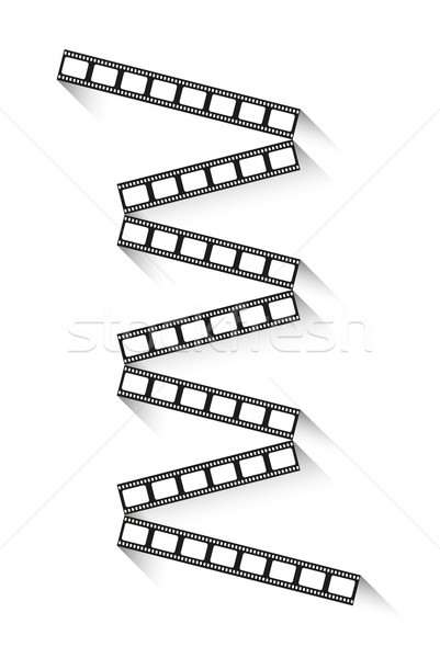 filmstrips with shadow Stock photo © muuraa