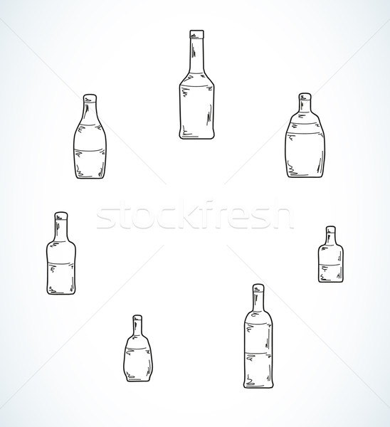few different bottles Stock photo © muuraa
