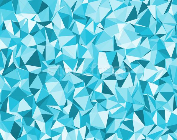 Blu vettore diverso colore acqua moda Foto d'archivio © muuraa