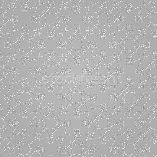 серый вектора текстуры моде дизайна Сток-фото © muuraa