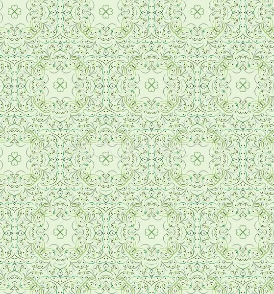 Yeşil vektör doku moda dizayn Stok fotoğraf © muuraa