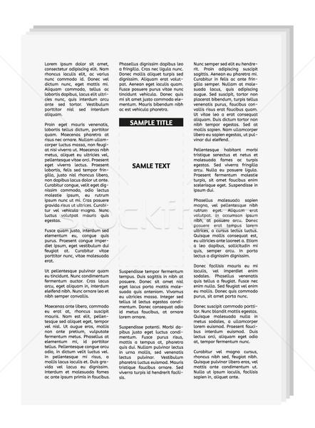 Vektör gazete boş yer metin Filmi Stok fotoğraf © muuraa