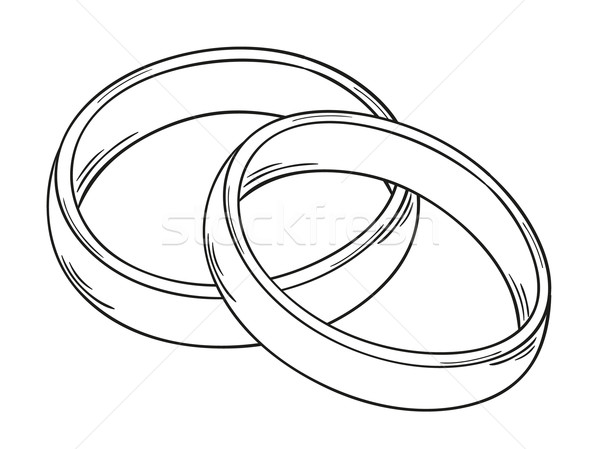 two rings Stock photo © muuraa