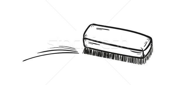 brush and cleaning up Stock photo © muuraa