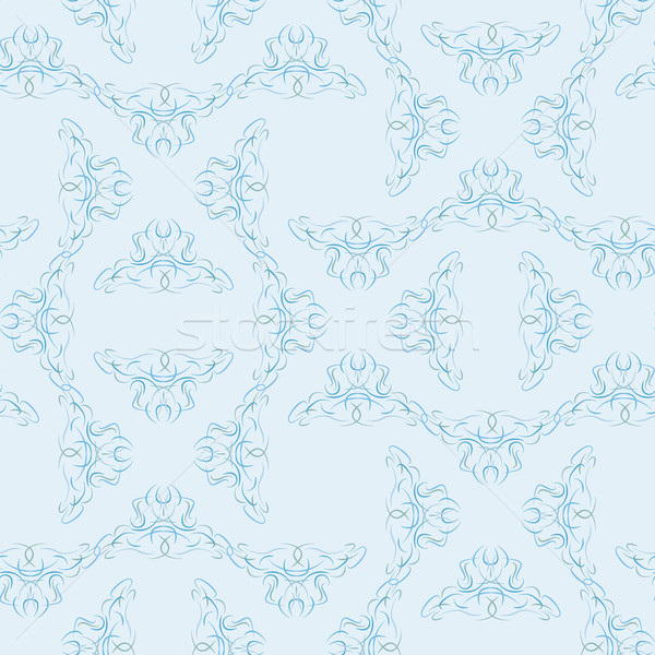 Marrom vetor textura moda projeto Foto stock © muuraa