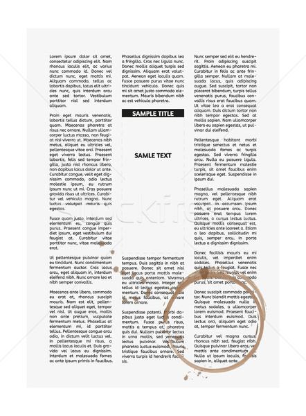 Vetor jornal xícara de café imprimir vazio lugar Foto stock © muuraa