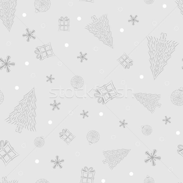 Natal projeto vetor papel Foto stock © muuraa
