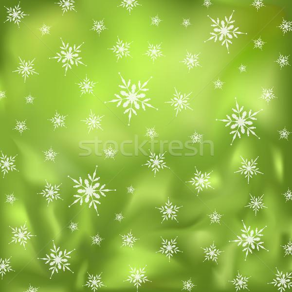 Noel dizayn süsler vektör kâğıt Stok fotoğraf © muuraa
