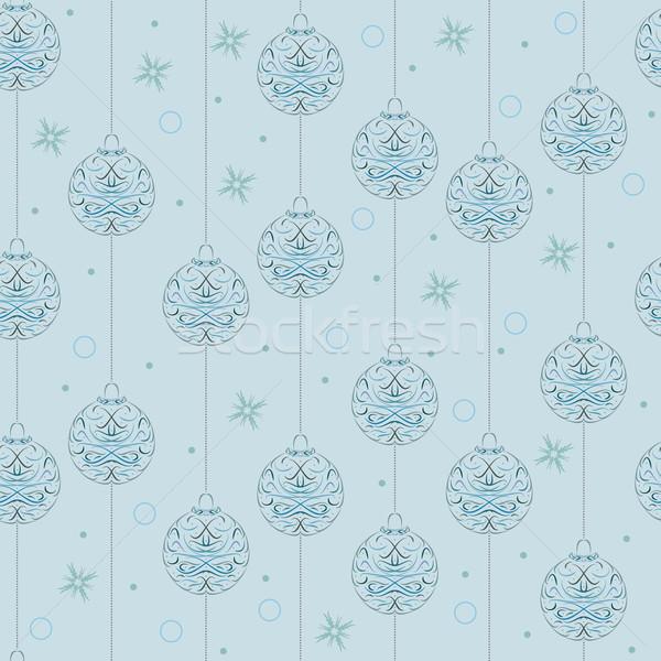 クリスマス デザイン ベクトル 紙 ストックフォト © muuraa
