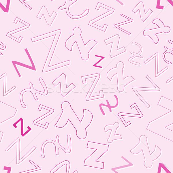 Karakter pembe vektör okul dizayn Stok fotoğraf © muuraa