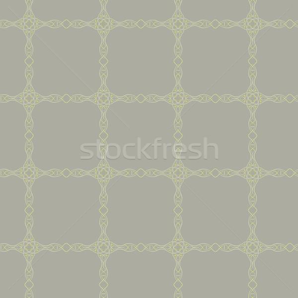 ブラウン ベクトル テクスチャ ファッション デザイン ストックフォト © muuraa