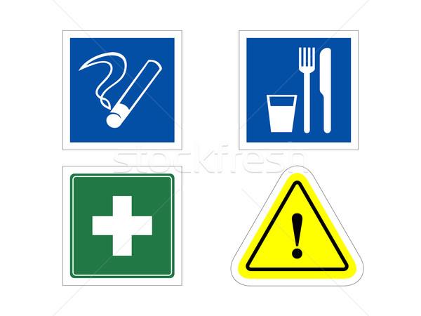 информации признаков курение еды медицинской предупреждение Сток-фото © my-photomir