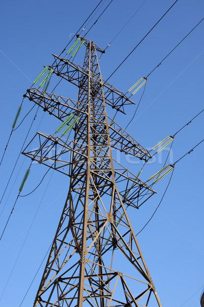 власти линия Blue Sky интересный угол мнение Сток-фото © my-photomir