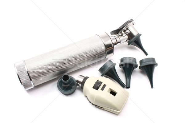 Otoscope/Opthalmascope and attachments Stock photo © mybaitshop