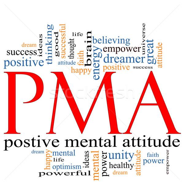PMA Word Cloud Concept Stock photo © mybaitshop