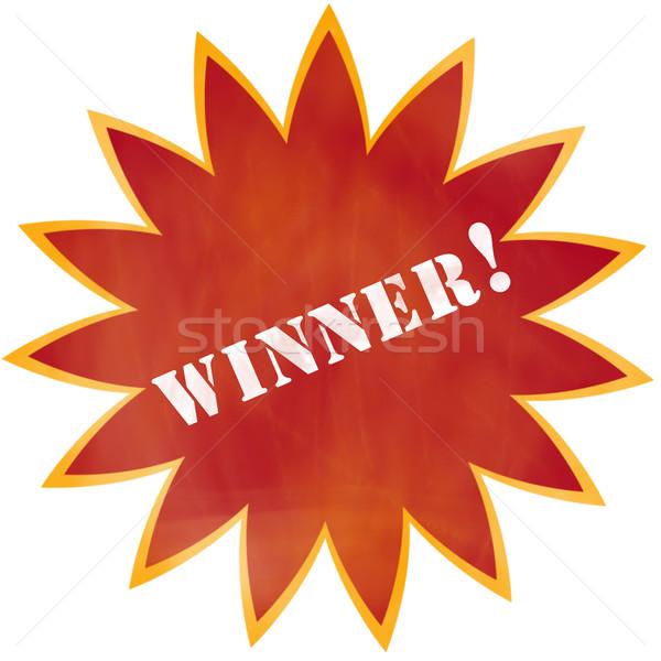 Grunge Winner! Burst Stock photo © mybaitshop