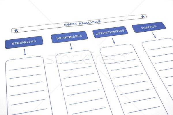 SWOT Analysis Stock photo © mybaitshop
