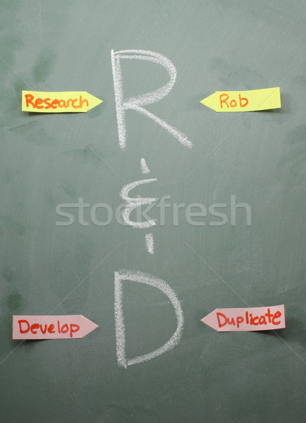 R&D Definitions Stock photo © mybaitshop