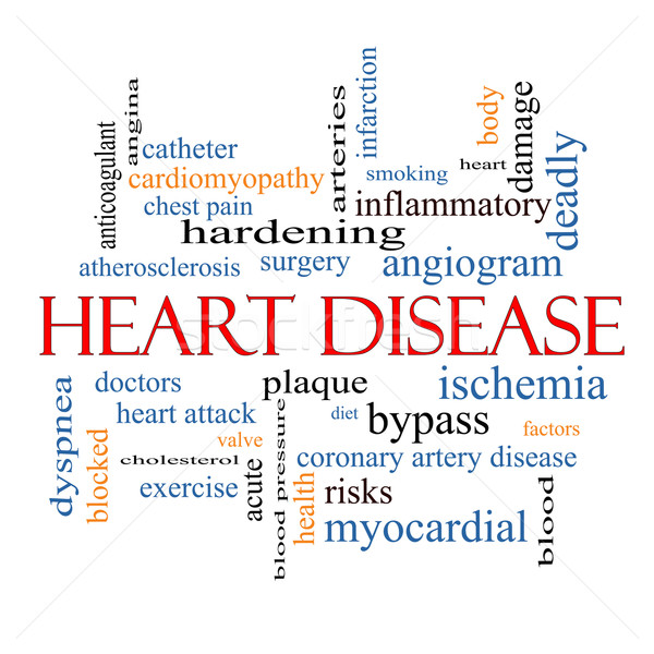 Heart Disease Word Cloud Concept Stock photo © mybaitshop