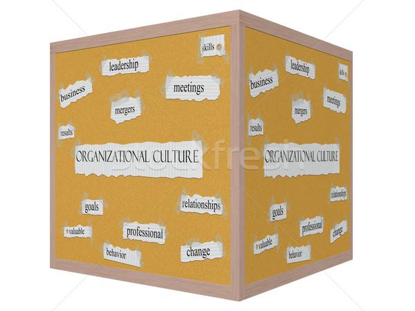 Stock fotó: Kultúra · 3D · kocka · szó · nagyszerű · irányítás