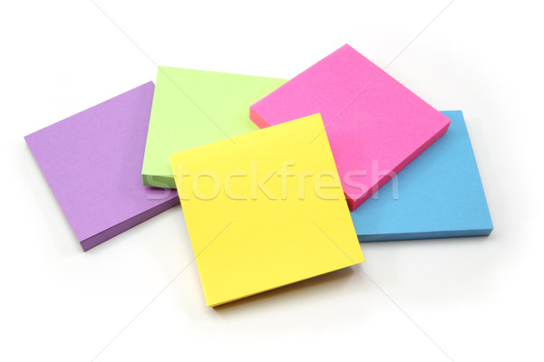 An array of sticky note pads Stock photo © mybaitshop