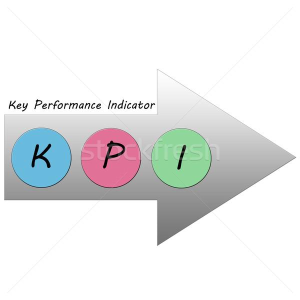 Stockfoto: Pijl · sleutel · kleurrijk · cirkels