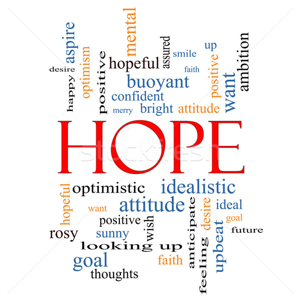 Hope Word Cloud Concept Stock photo © mybaitshop