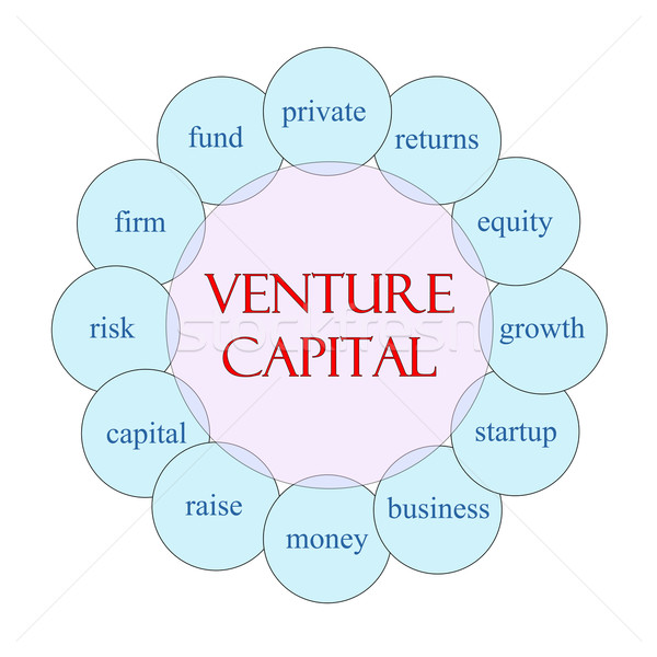 Venture Capital Circular Word Concept Stock photo © mybaitshop