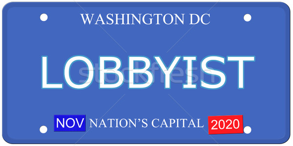Washington DC tablica rejestracyjna imitacja słowo Zdjęcia stock © mybaitshop