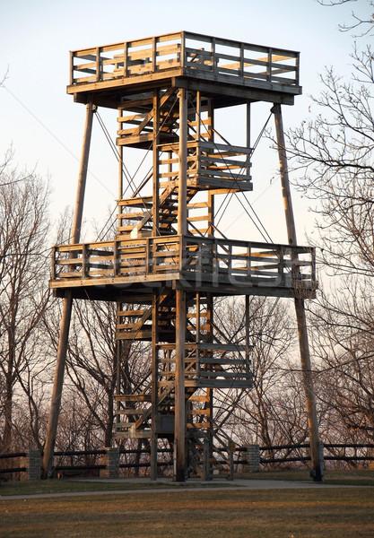 Fire Watch Tower Stock photo © mybaitshop