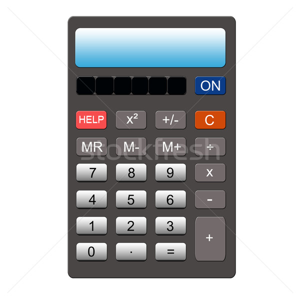 HELP button Calculator Stock photo © mybaitshop