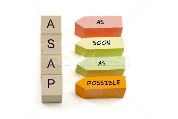 ASAP Blocks Stock photo © mybaitshop