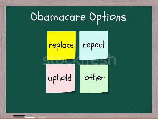 Obamacare options Stock photo © mybaitshop