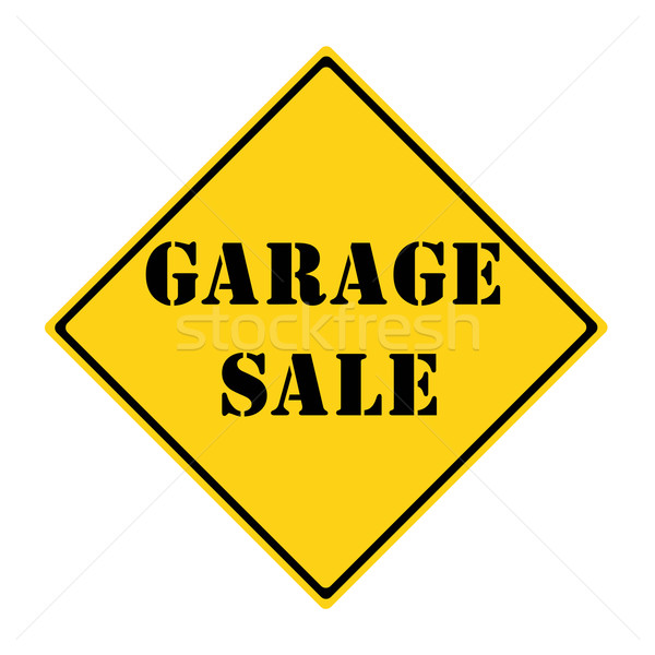 Garage Sale Sign Stock photo © mybaitshop