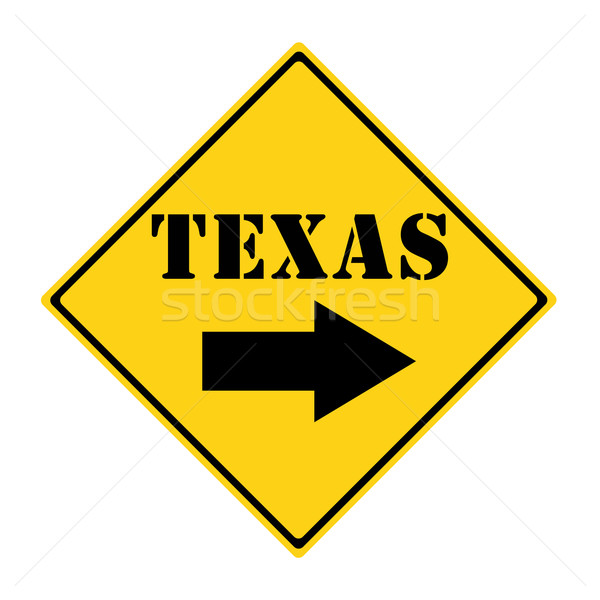 Texas that way Sign Stock photo © mybaitshop