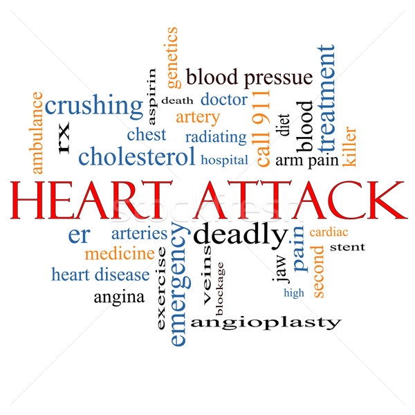 Heart Attack Word Cloud Concept Stock photo © mybaitshop