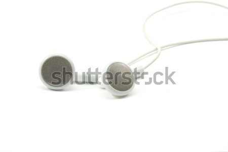 MP3 Earbuds Stock photo © mybaitshop