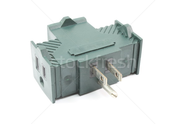 Electrical outlet adapter Stock photo © mybaitshop