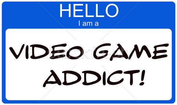 Hello I am a Video Game Addict Stock photo © mybaitshop