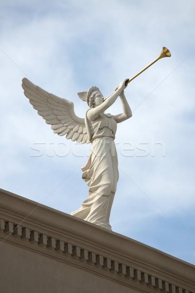 Trumpeting Angel Stock photo © mybaitshop