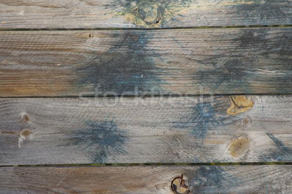 Paintball manchado textura de madera resumen Foto stock © mybaitshop