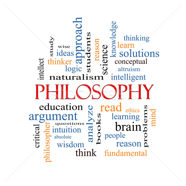 Philosophy Word Cloud Concept Stock photo © mybaitshop