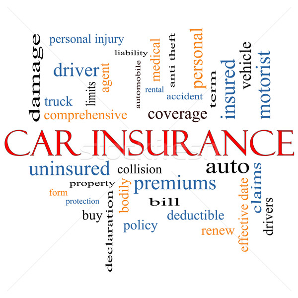 Car Insurance Word Cloud Concept Stock photo © mybaitshop
