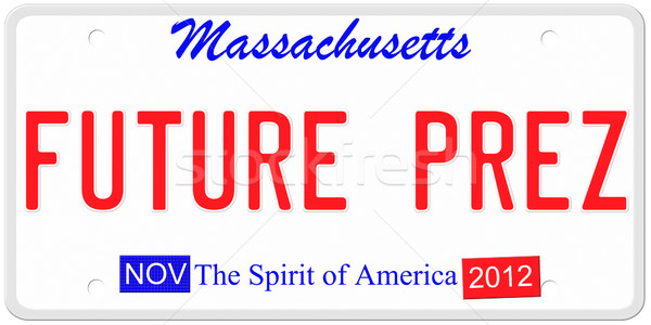 Future President License Plate Stock photo © mybaitshop