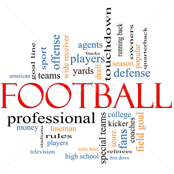 Football Word Cloud Concept Stock photo © mybaitshop